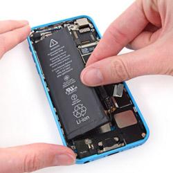 Замена батареи айфон 5С