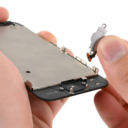 Замена кнопки хоум айфон 5