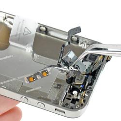 Замена кнопок громкости на телефоне iPhone 4