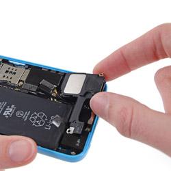 Замена полифонического динамика iPhone 5C