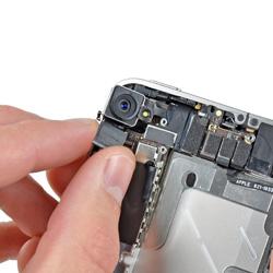 Замена задней (основной) камеры iphone 4s
