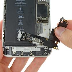 Замена гнезда зарядки Айфон 6 плюс