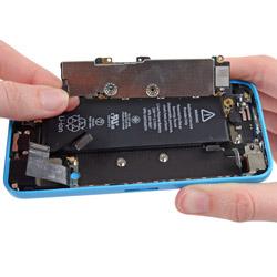 Замена задней панели айфон 5С