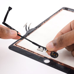 Замена шлейфа с кнопкой хоум iPad 5 Air