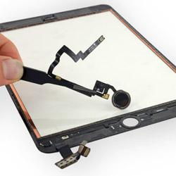 Замена шлейфа с кнопкой Home на планшете ipad mini 3