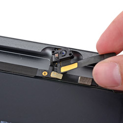 Замена селфи камеры iPad 5 Air