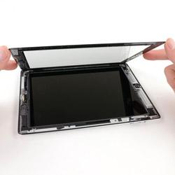 Замена сенсорного экррана iPad 4