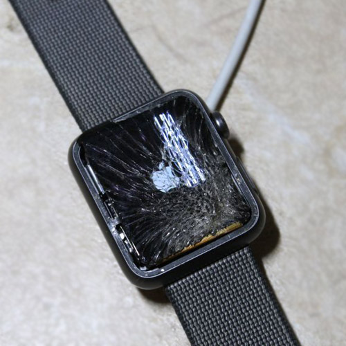 Разбитый дисплей iwatch
