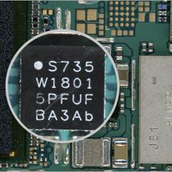 Замена чипа (интегральной схемы) Самсунг