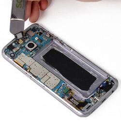 Замена верхнего слухового динамика Самсунг Galaxy S7