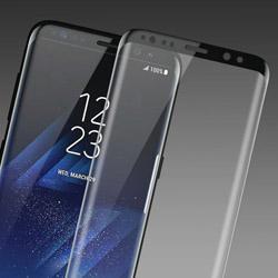 Поклейка бронированного стекла на Самсунг Galaxy S8 плюс