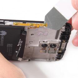 Замена кнопок громкости и включения Huawei P10 Plus