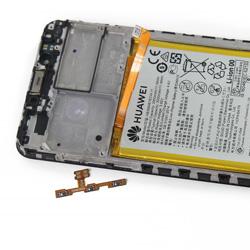 Замена кнопок громкости и включения Huawei P9 Lite