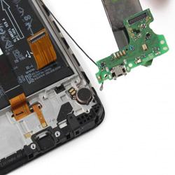 Замена разъема зарядки Huawei Y7